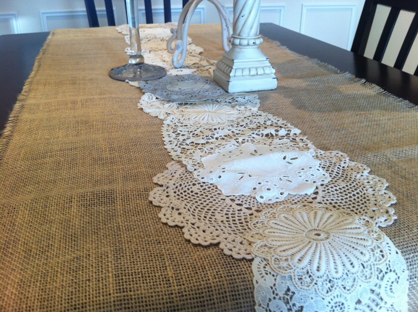 108 Table Runner | Lace Table Runners | Dining Table Runner