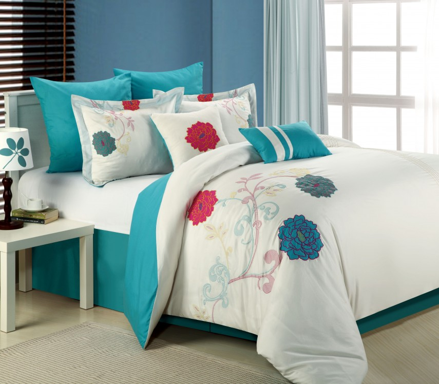 24 Piece Comforter Set | Luxury Comforter Sets | Blush Comforter