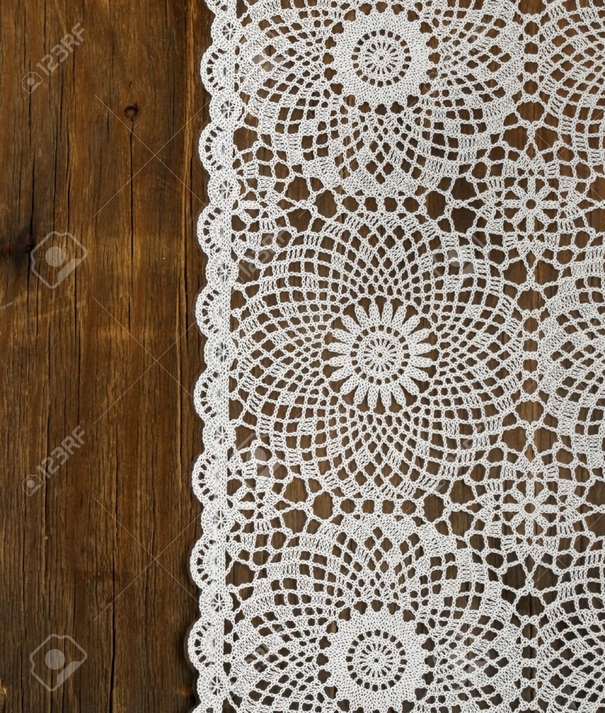 48 Inch Round Tablecloth | Lace Tablecloths | Lace Crochet Tablecloth