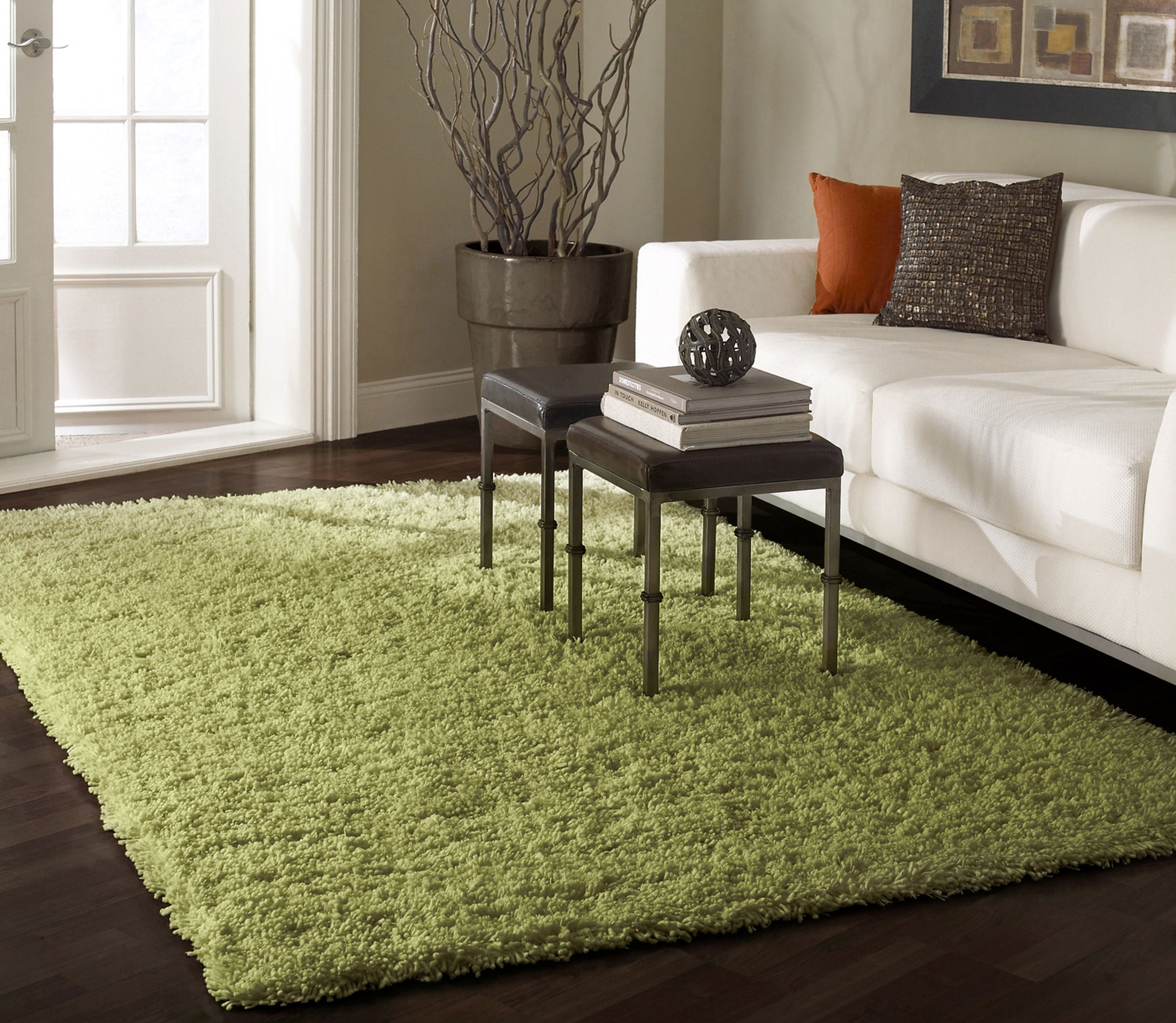 Decor Lime Green Area Rug 8x10