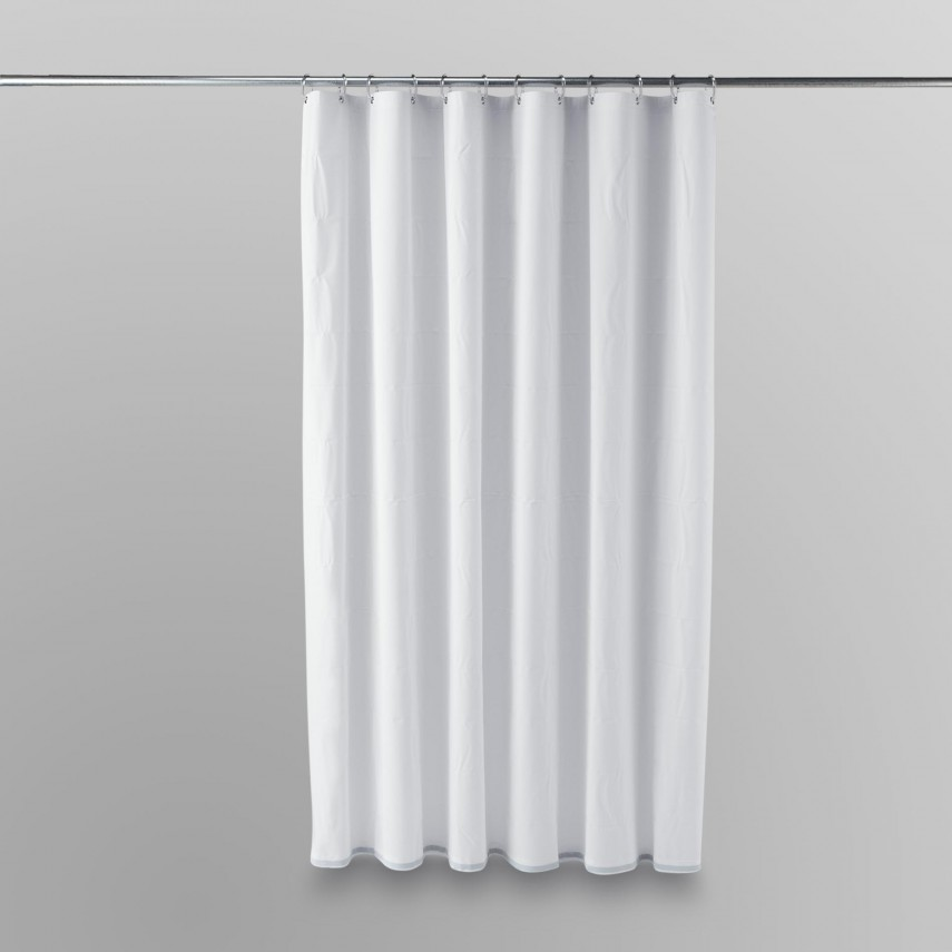 78 Inch Long Shower Curtain Liner | Nylon Shower Curtain Liner | Shower Curtain Liner