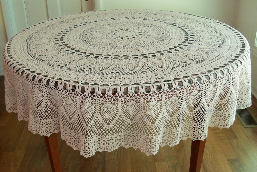 90 Inch Round Lace Tablecloth | Lace Tablecloths | Peva Tablecloth