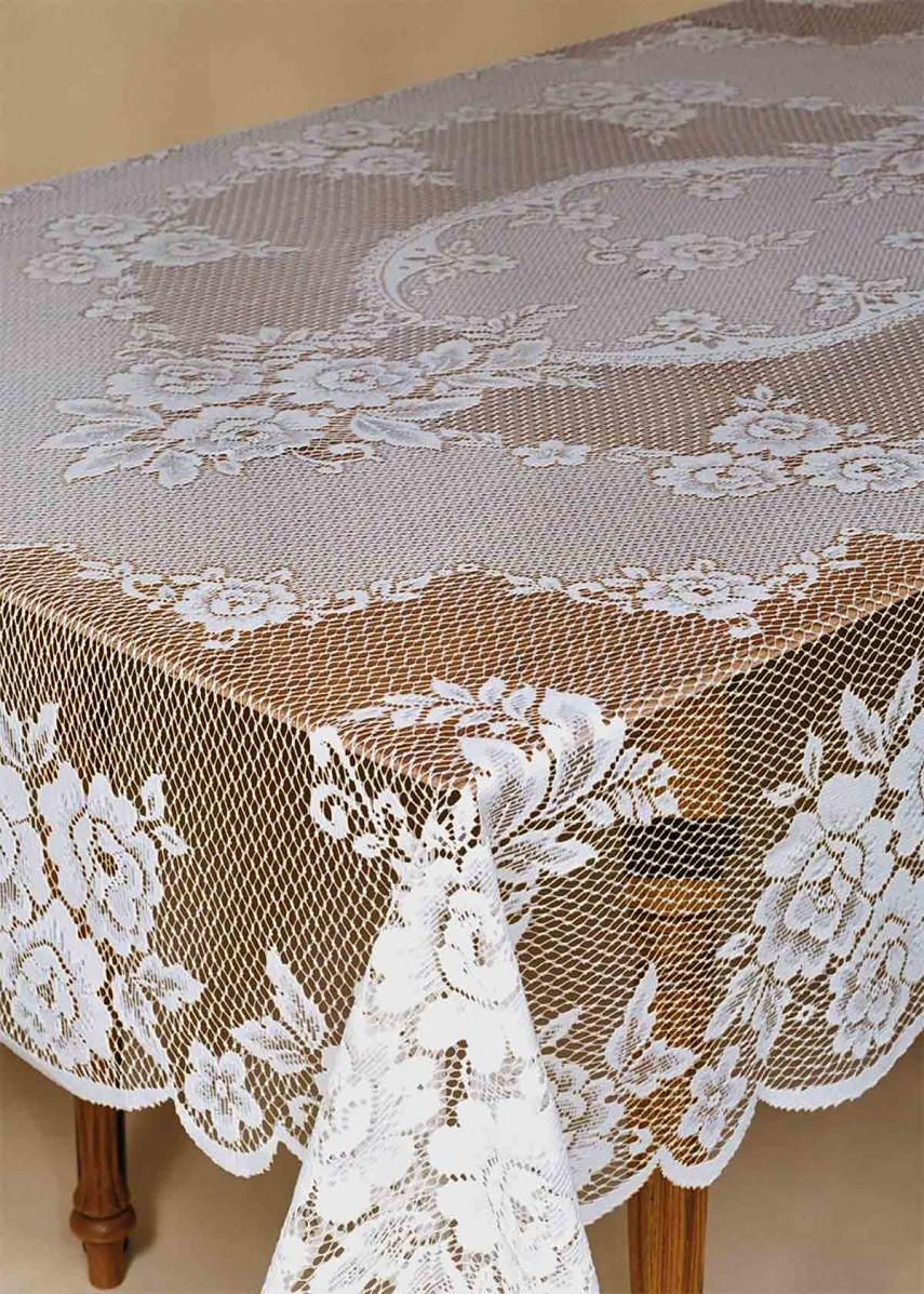 90 Round Tablecloth | Cheap Lace Tablecloth | Lace Tablecloths