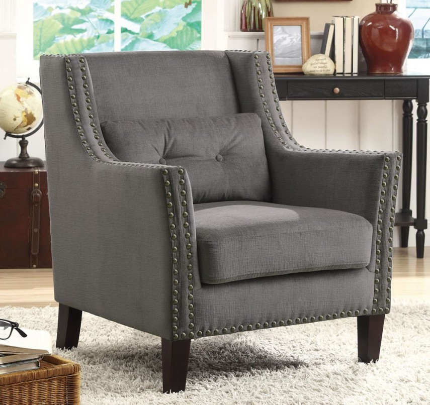 Accent Chairs Under 100 | Upholstered Arm Chair | Comfortable Chairs For Small Spaces