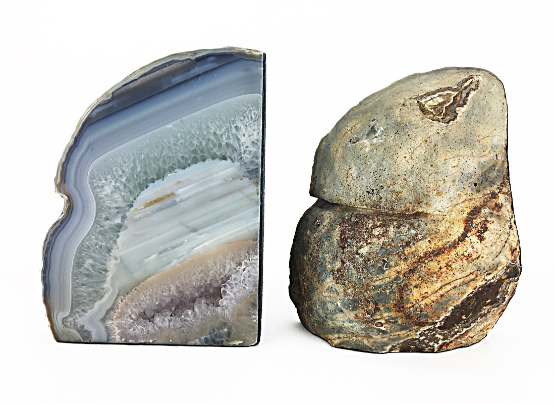 Adorable Geode Bookends | Cool Geode Bookends Discount