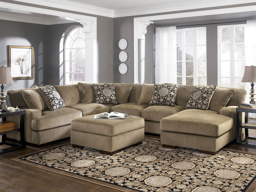 Affordable Couches | Deep Seated Sectional | Large Sectional Sofas