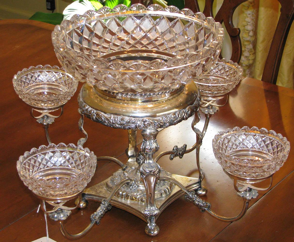 Amazing Epergne Glass | Enchanting Epergne