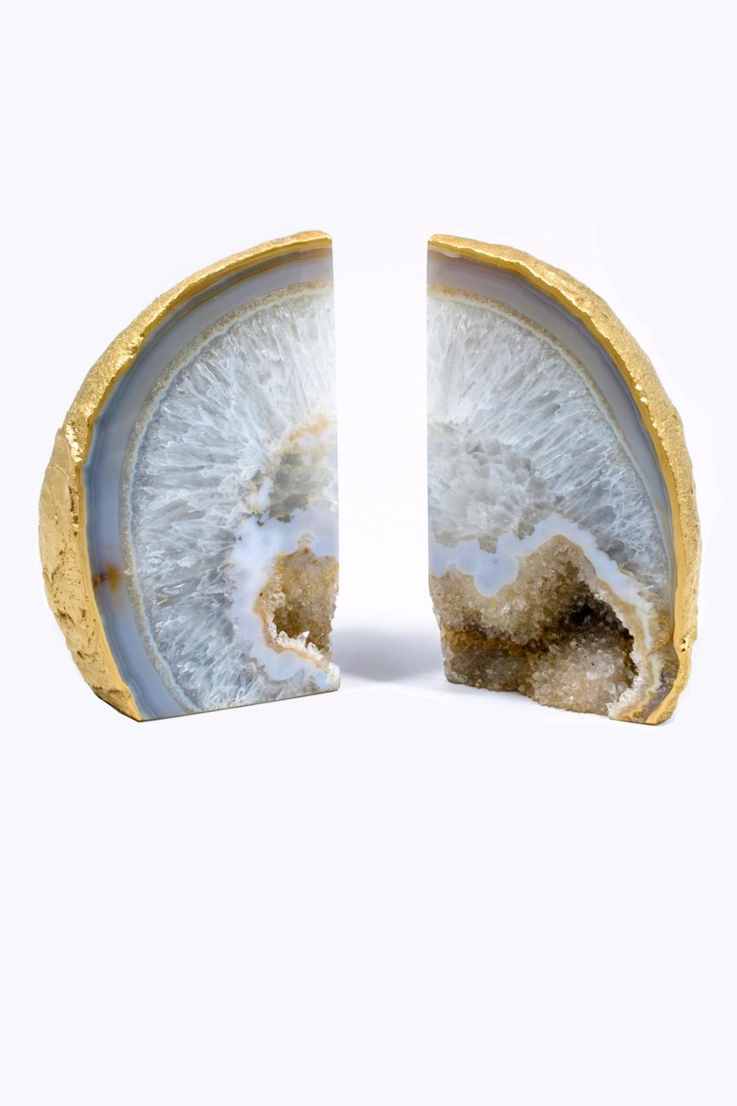 Amazing Geode Bookends Stone | Best Geode Bookends