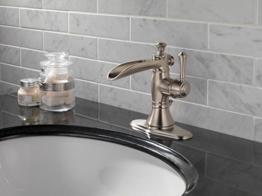 Amazon Kitchen Faucets | Delta Cassidy Faucet | Brushed Nickel Kitchen Faucets