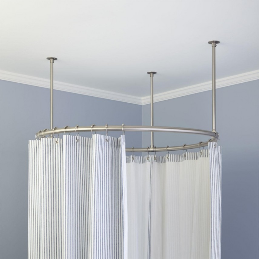 Anti Mold Shower Curtain Liner | Shower Curtain Liner | Extra Long Fabric Shower Curtain Liner