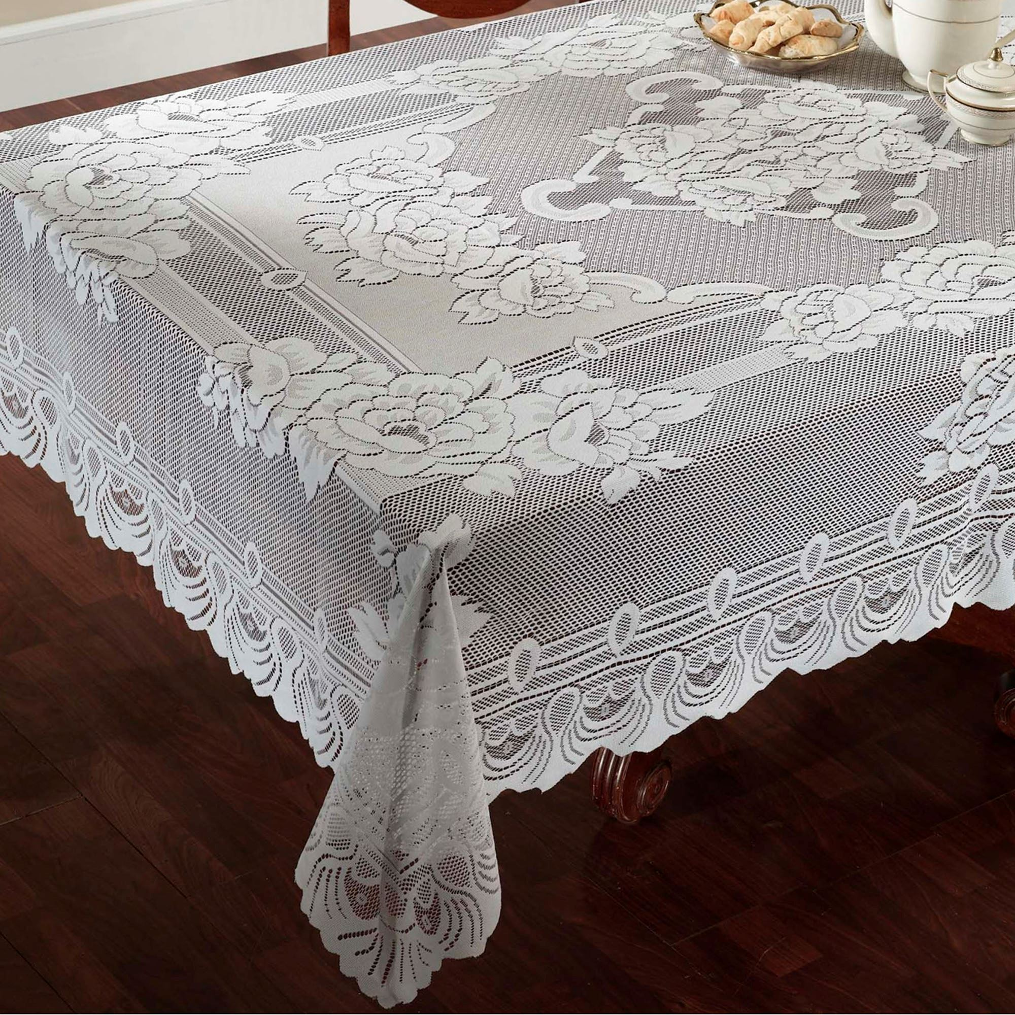 Antique Lace Tablecloth | Lace Tablecloths | Irish Lace Tablecloth