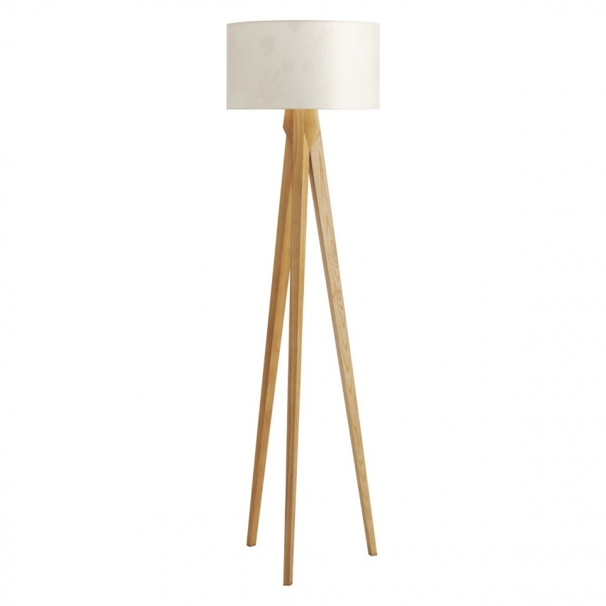 Arc Lamp Crate And Barrel | Tripod Lamp | Wooden Tripod