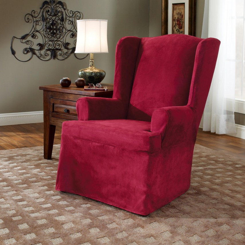 Armchair Slipcovers | Walmart Chair Covers | Oversized Chair Slipcover