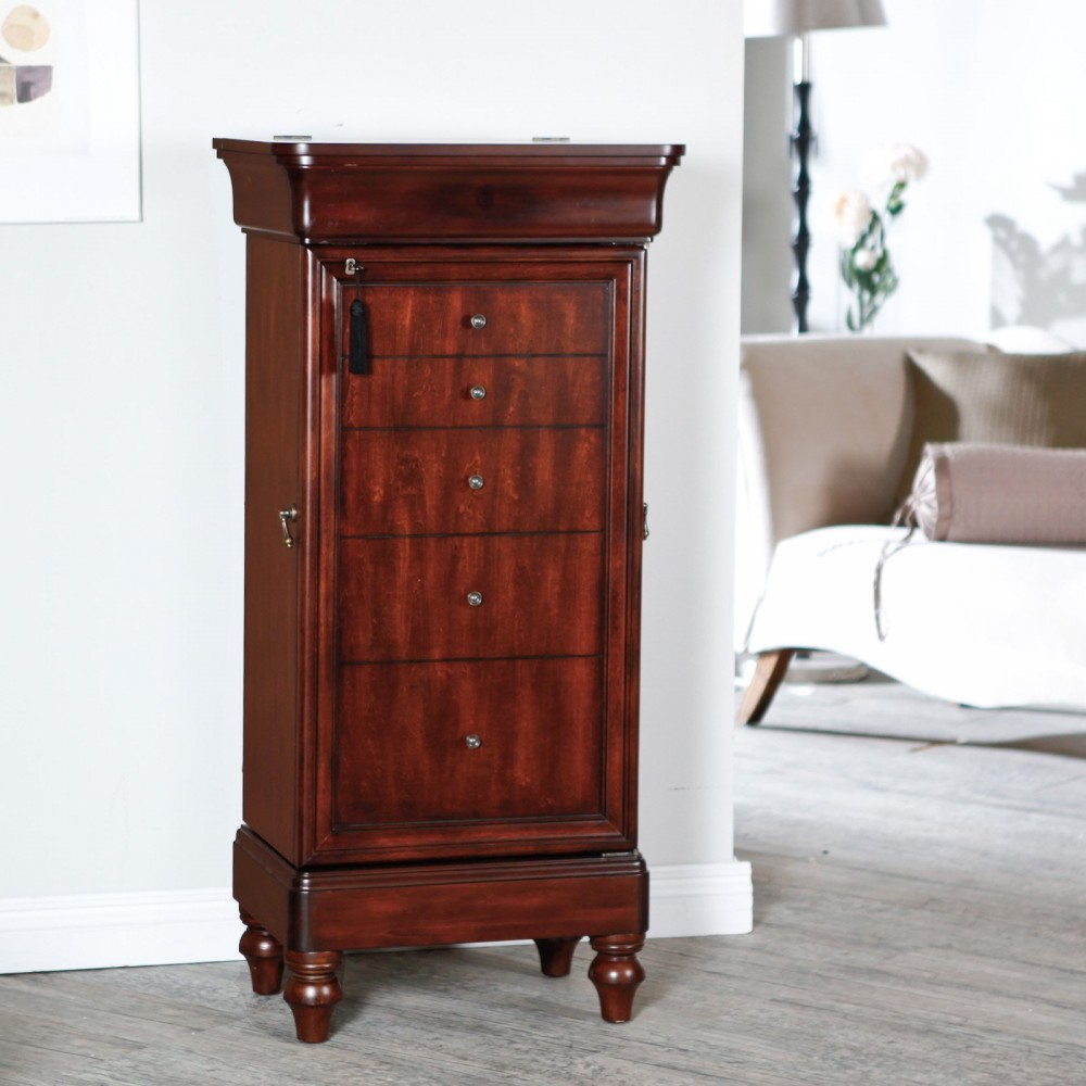 Armoire Furniture | Armoire With Shelves | Home Depot Wardrobe