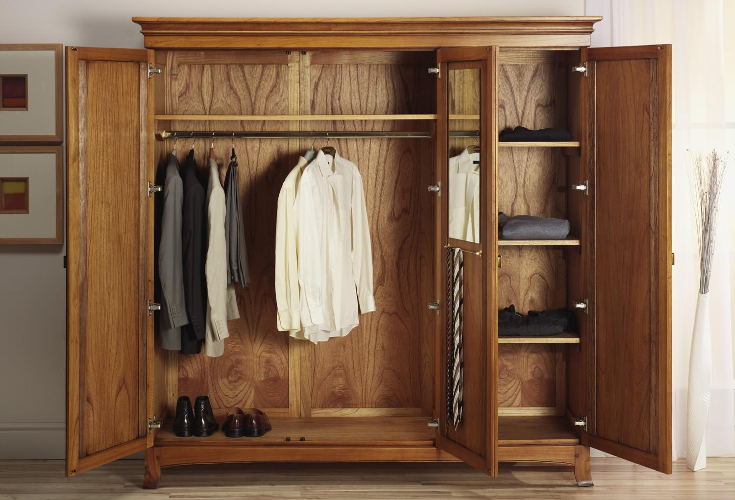Armoire Furniture | Unfinished Furniture Armoire | Furniture Wardrobe Closet Armoire
