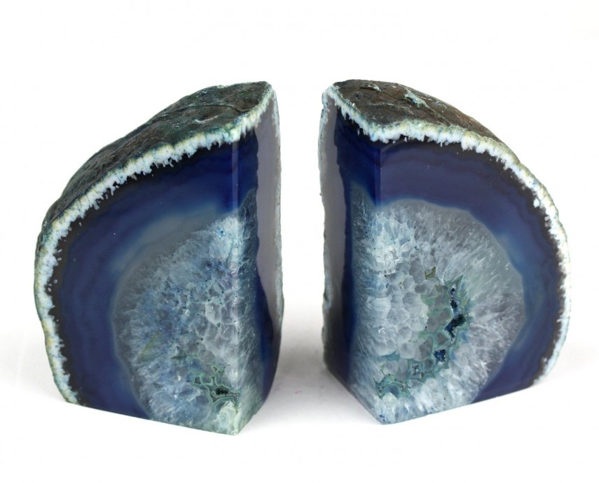 Astonishing Geode Bookends Inspiration | Immaculate Geode Bookends Rustic