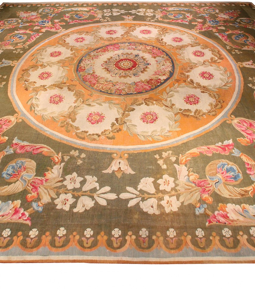 Astounding Aubusson Rugs | Entrancing Aubusson Carpets