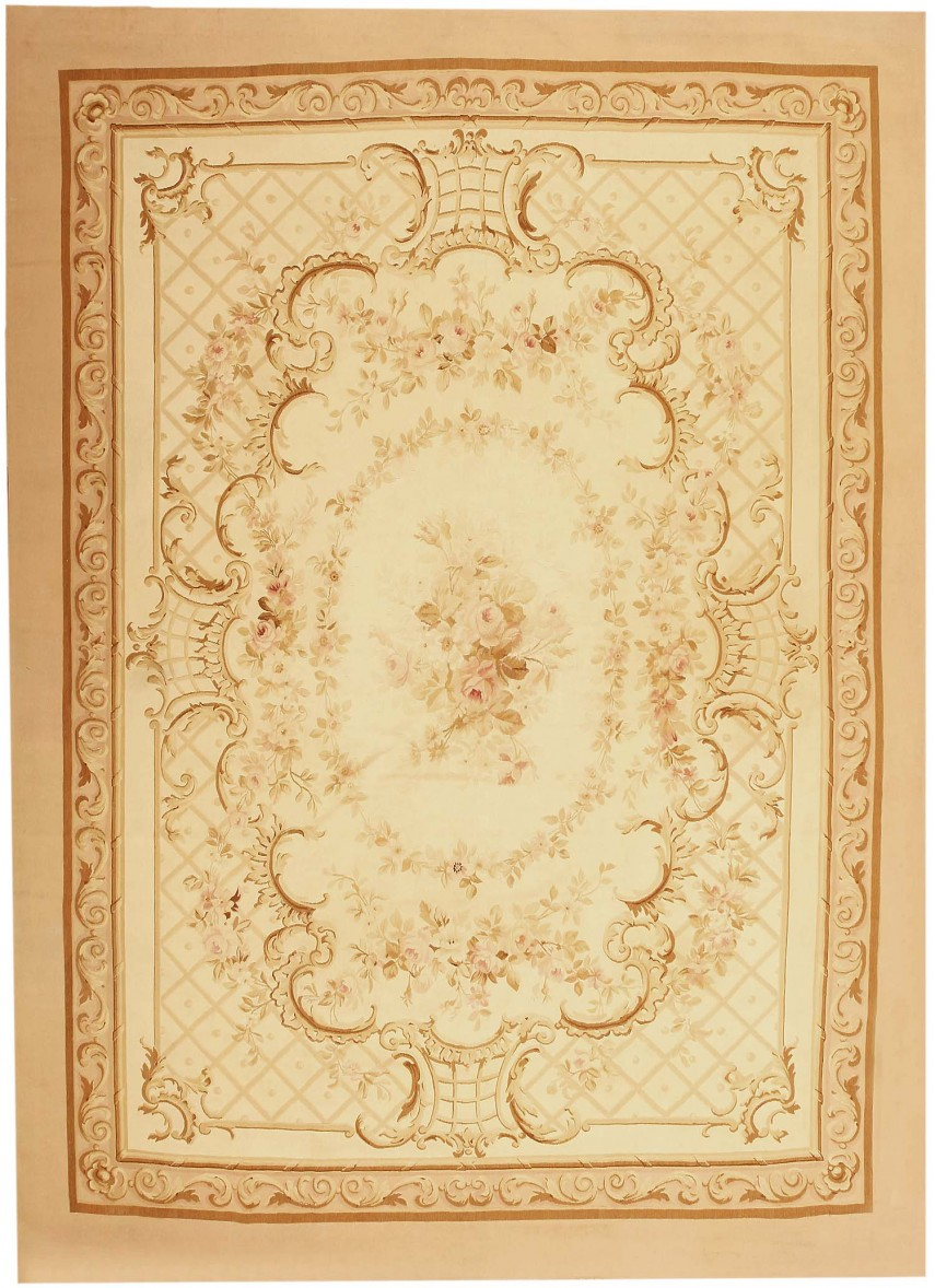Astounding French Aubusson | Enticing Aubusson Rugs