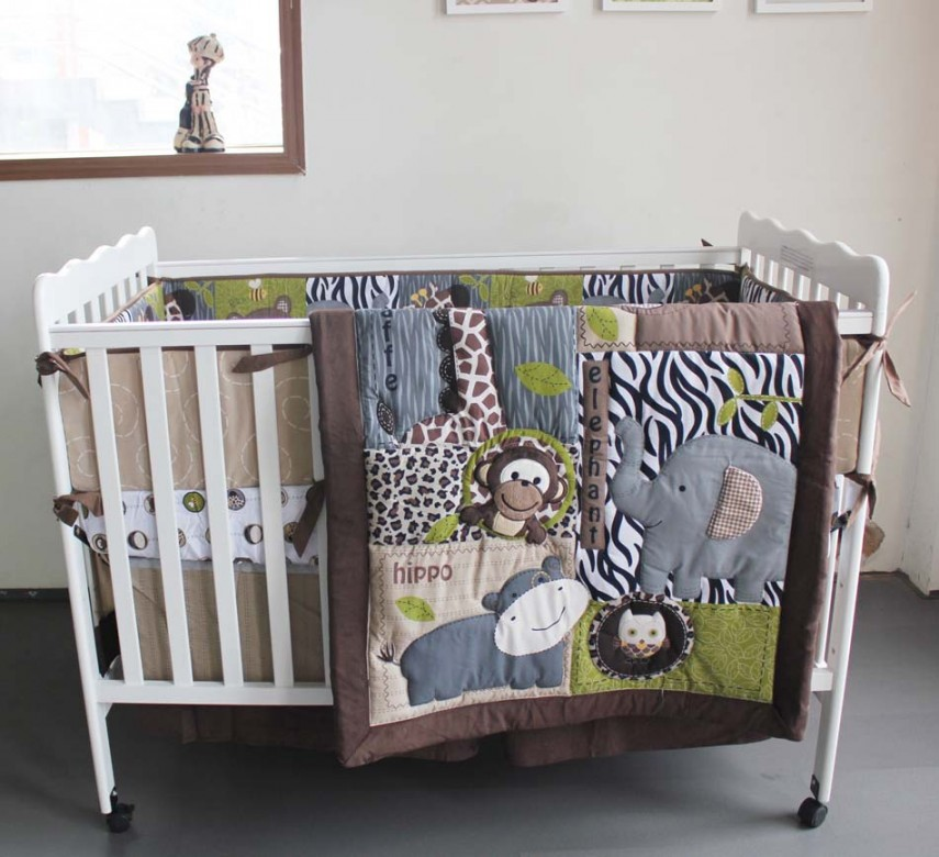Baby Crib With Changing Table | Cheap Cribs | Cribs With Solid Back Panel