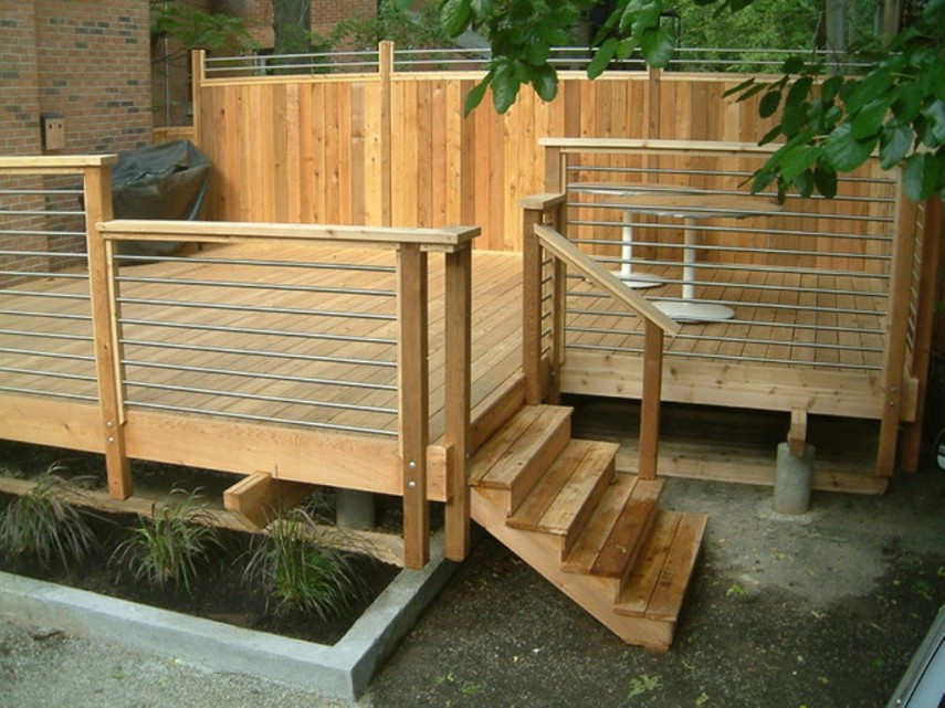 Balcony Rail Planters | Railing Planter Box | Deck Rail Planters