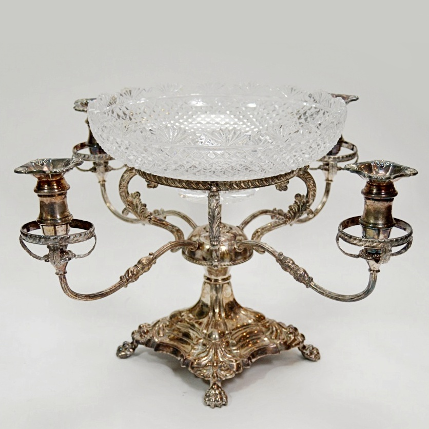 Beautiful Epergne | Enchanting Epergne Glass