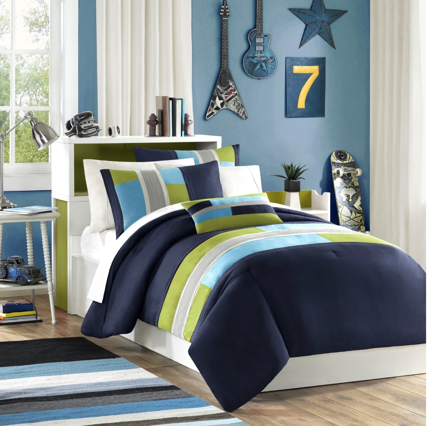 Bed Comforter Sets | King Size Comforters Target | Navy Blue Comforter