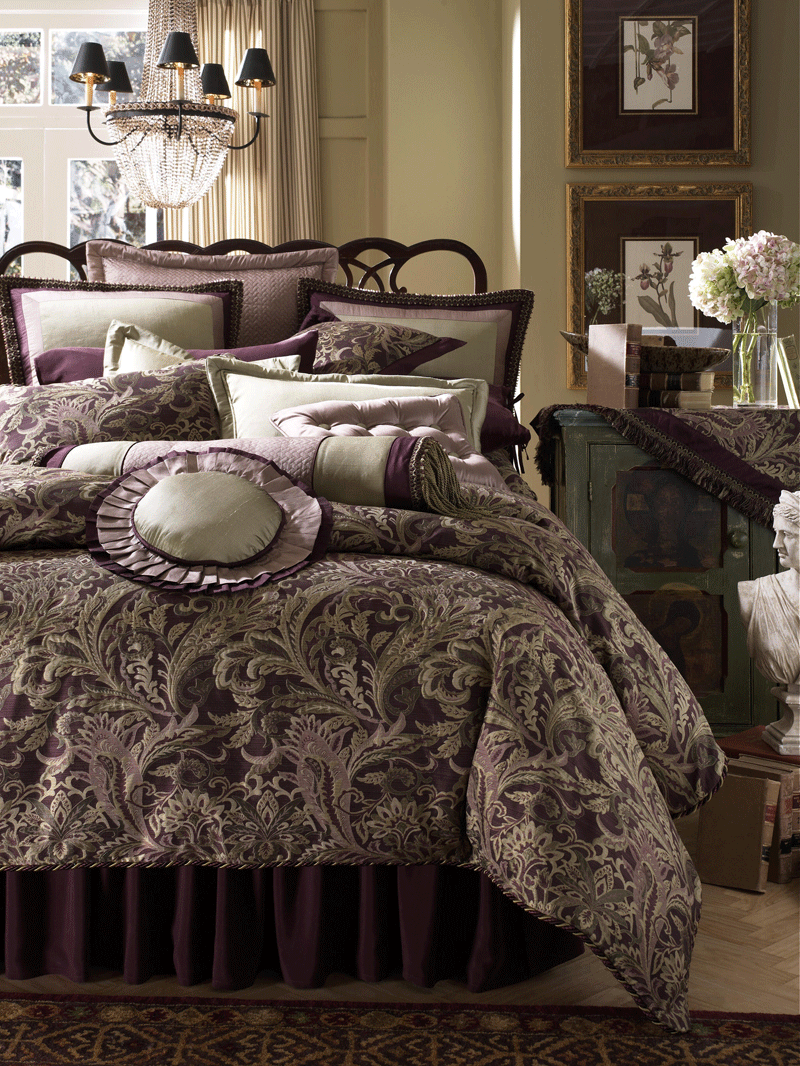 Overstock Bedroom Sets: Bedroom: Using Luxury Comforter Sets For Wonderful Bedroom