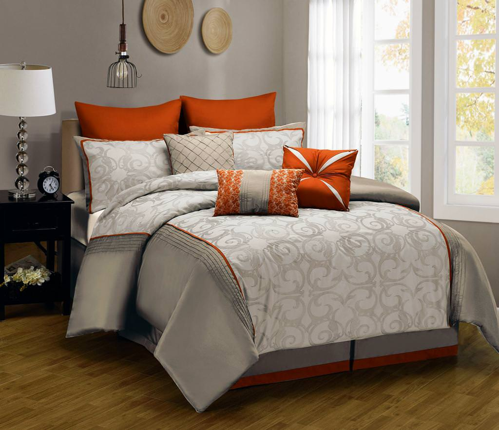 Bed Comforters Queen | Taupe Comforter Sets Queen | Luxury Comforter Sets