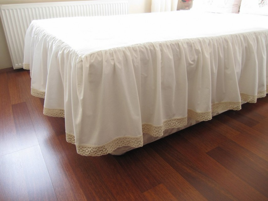 Bed Skirt Walmart | White Queen Size Bed Skirt | Bed Skirts Queen