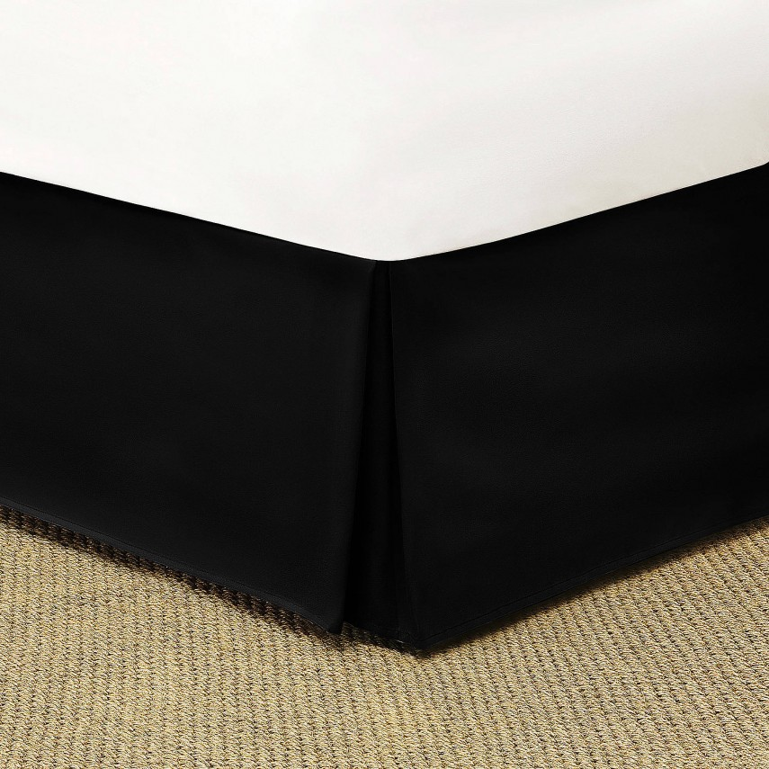 Bed Skirts Queen 14 Inch Drop | Bed Skirts Queen | Black And White Striped Bed Skirt Queen