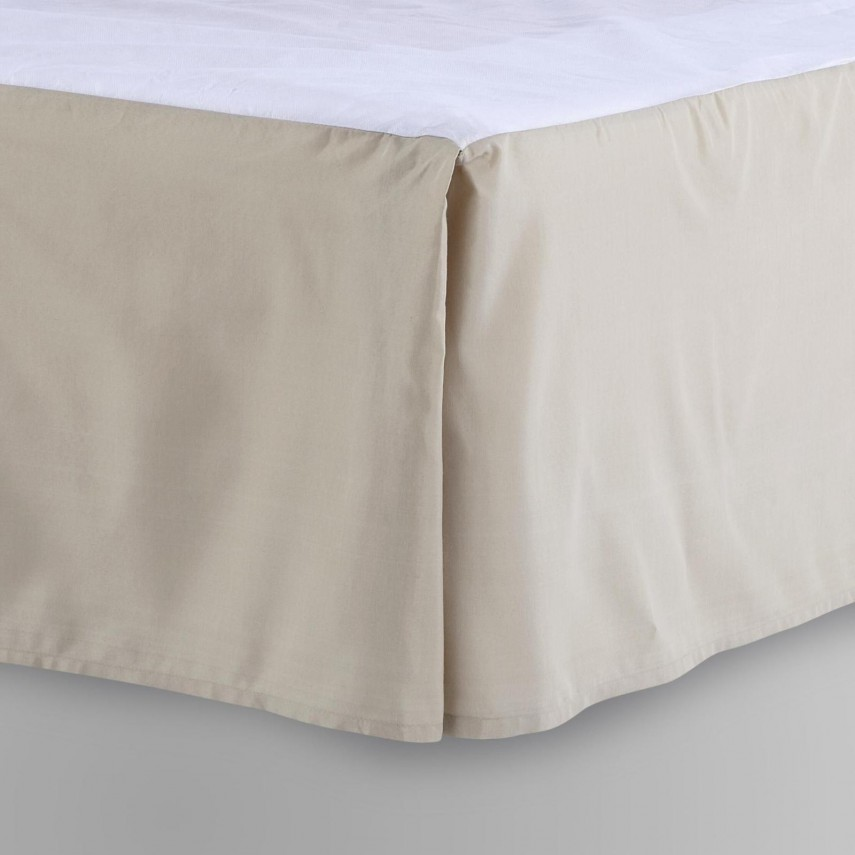 Bed Skirts Queen 18 Inch Drop | Detachable Bed Skirts | Bed Skirts Queen
