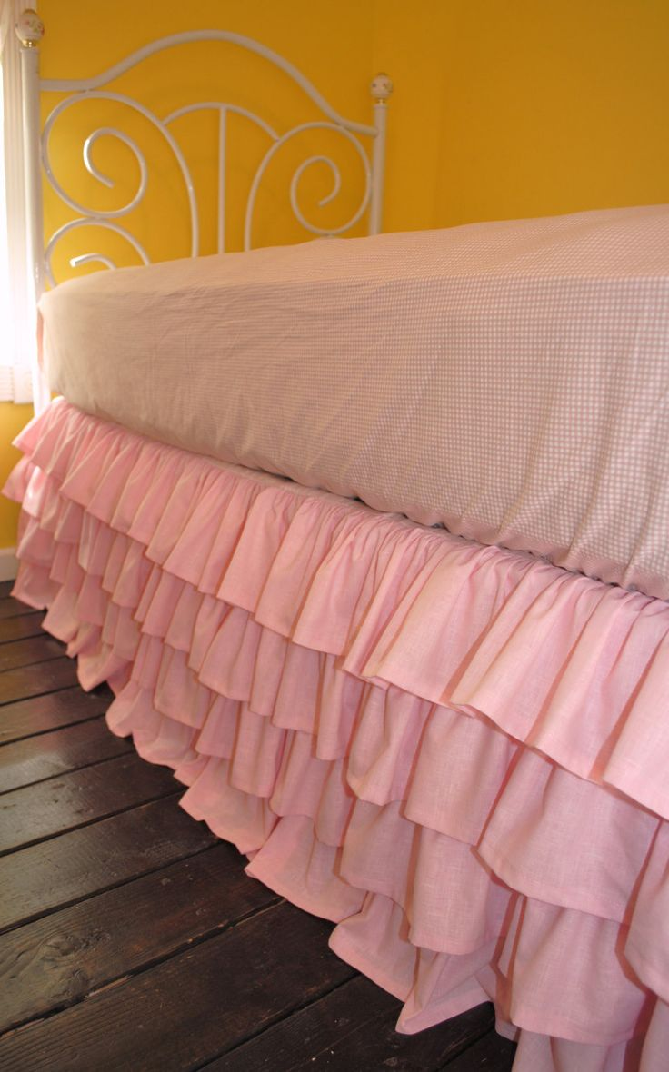 Bed Skirts Queen | King Bedskirt | White Queen Size Bed Skirt