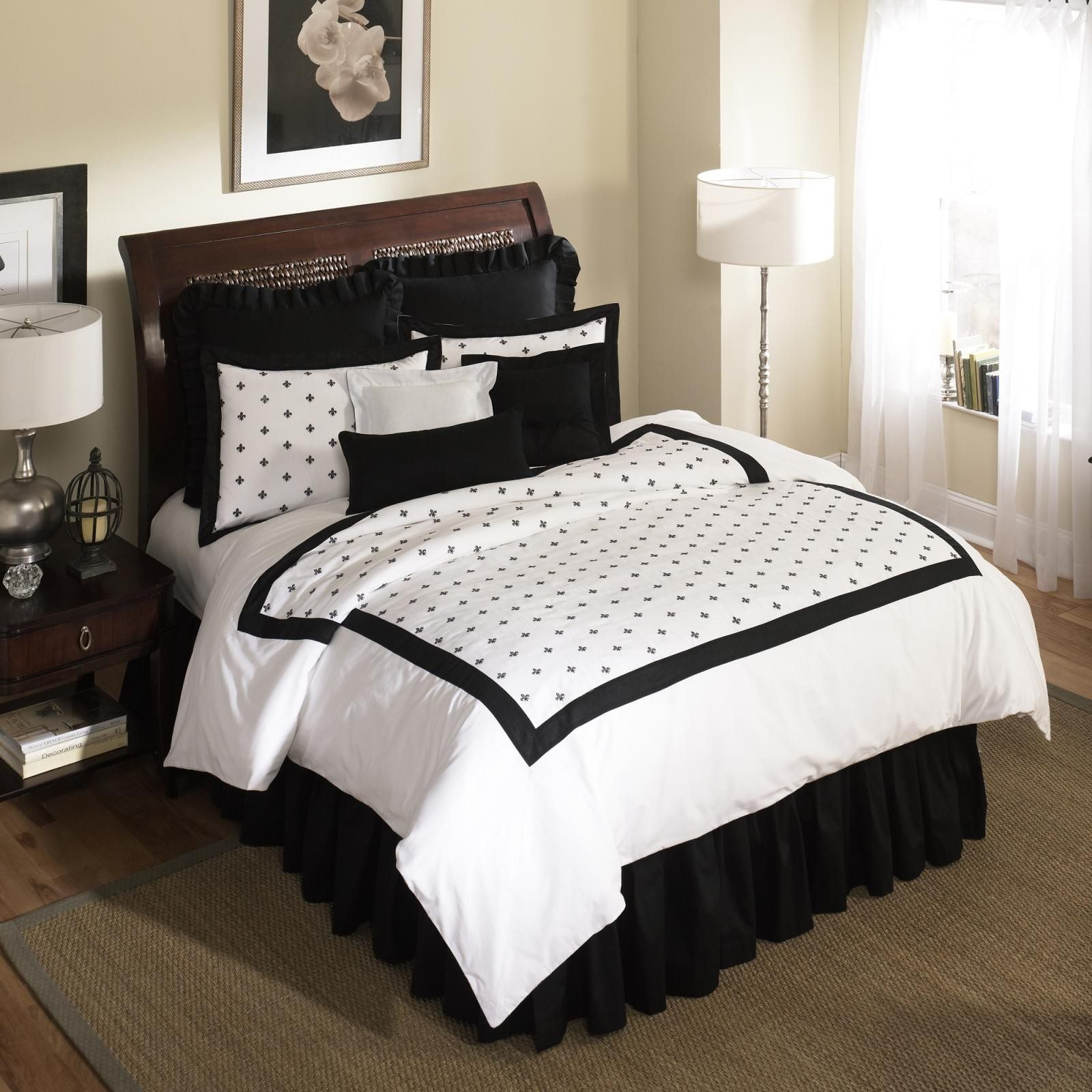 Bed Skirts Queen | Tailored Bed Skirts Queen | Split Corner Bed Skirt