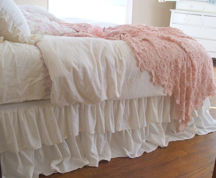 Bed Skirts Queen | Tailored Bedskirt | Cheap Bed Skirts Queen
