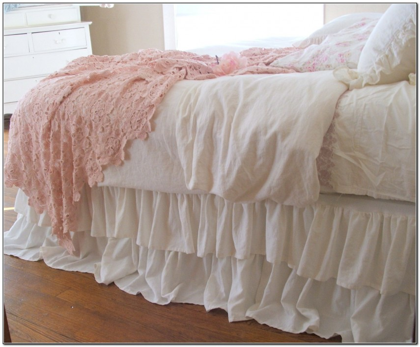 Bed Skirts Queen | Walmart Bed Skirts | Taupe Bed Skirt