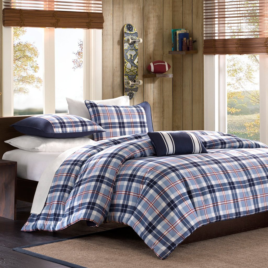 Bedroom Comforters | Twin Comforter Set | Navy Blue Comforter