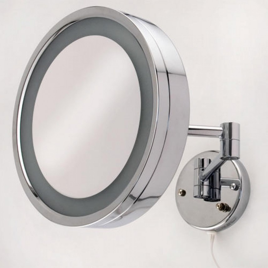 Bedroom Vanity With Lighted Mirror   Lighted Travel Makeup Mirror   Best Lighted Makeup Mirror