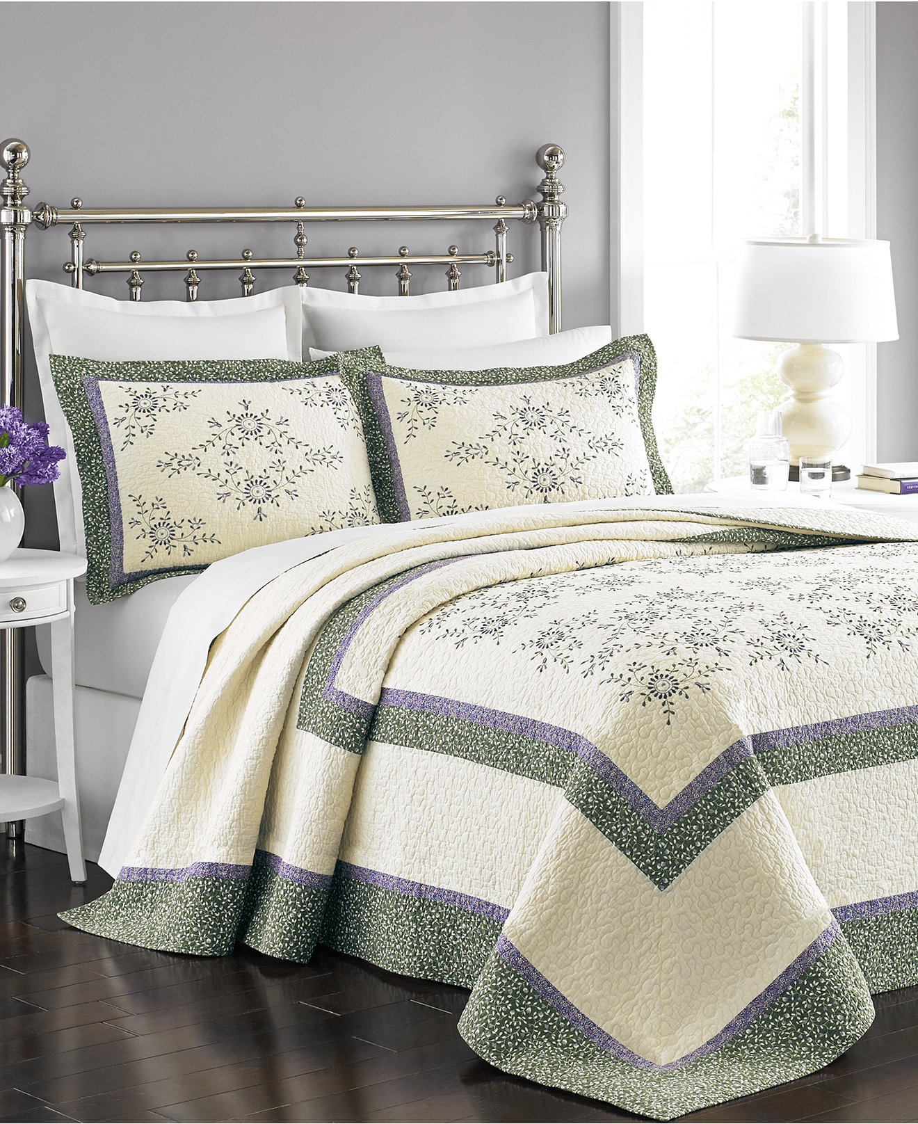 Belk Bedding | Queen Bedspreads | Purple Bedspread Queen