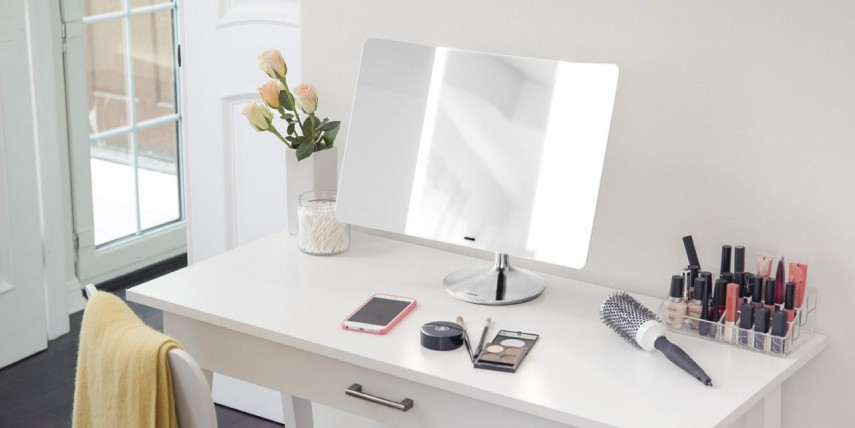Best Lighted Makeup Mirror | Bed Bath And Beyond Makeup Mirror | Make Up Mirrors