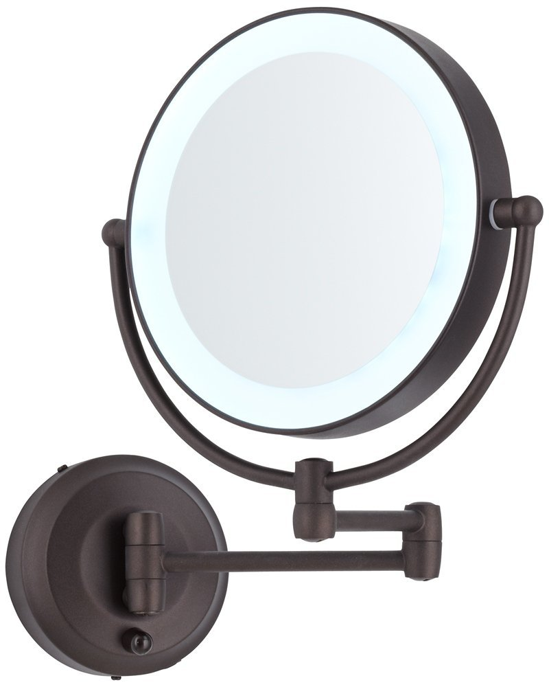 Best Lighted Makeup Mirror | Hollywood Lighted Vanity Mirror | Vanity Makeup Mirror with Light Bulbs