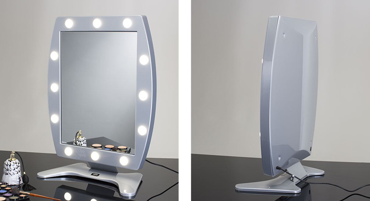Bedroom Best Lighted Makeup Mirror Lighted Makeup Mirror Make - Making a vanity mirror