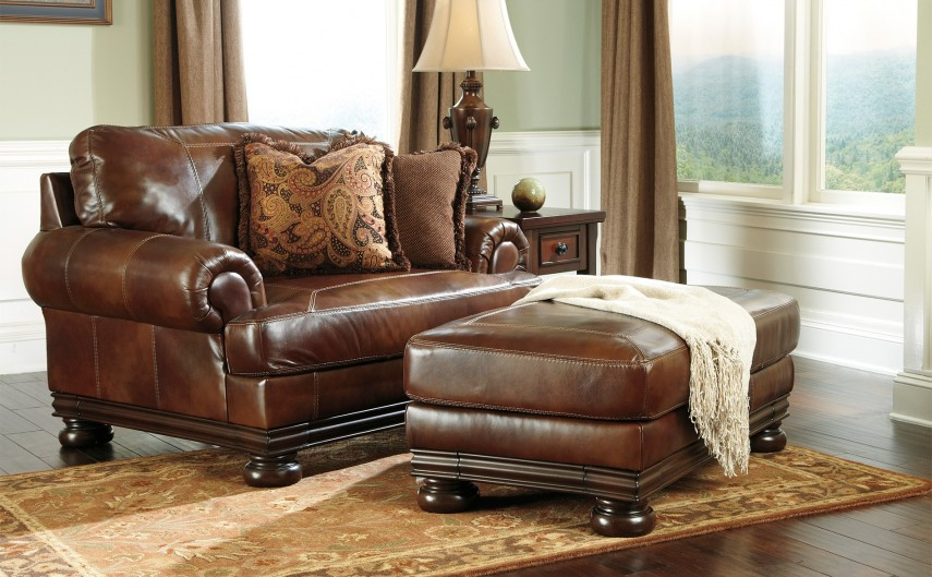 Biglots Furniture | Leather Chair And Ottoman | Oversized Chairs For Living Room