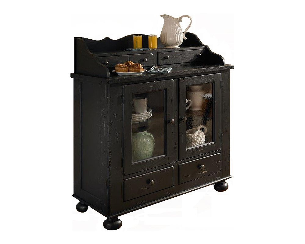 Black Buffet Server | Buffets and Sideboards | Painted Buffets and Sideboards