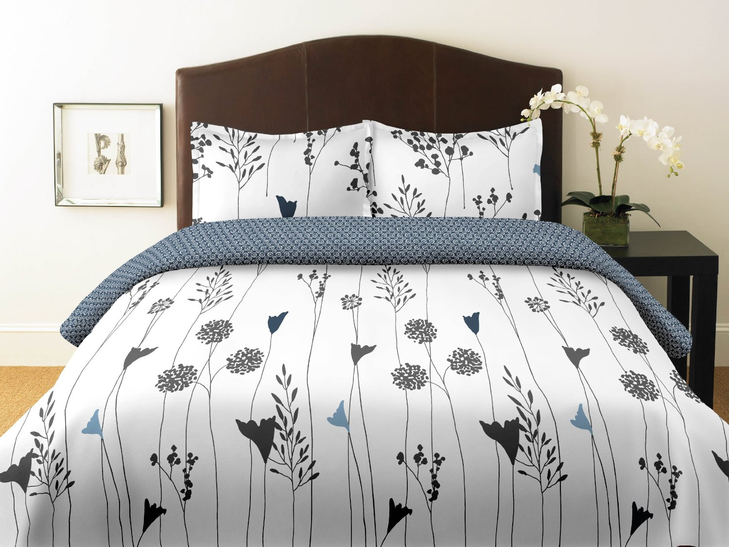 Black Queen Duvet Cover | Duvet Comforter | Queen Duvet Covers
