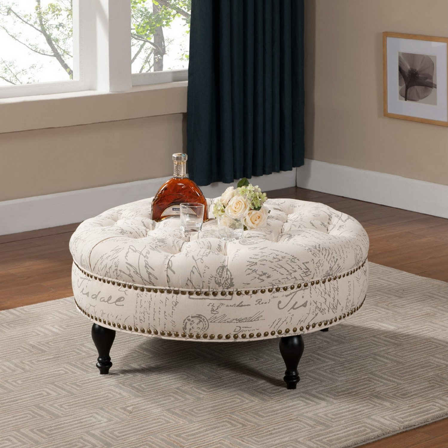 cushion ottoman coffee table | home hold design reference