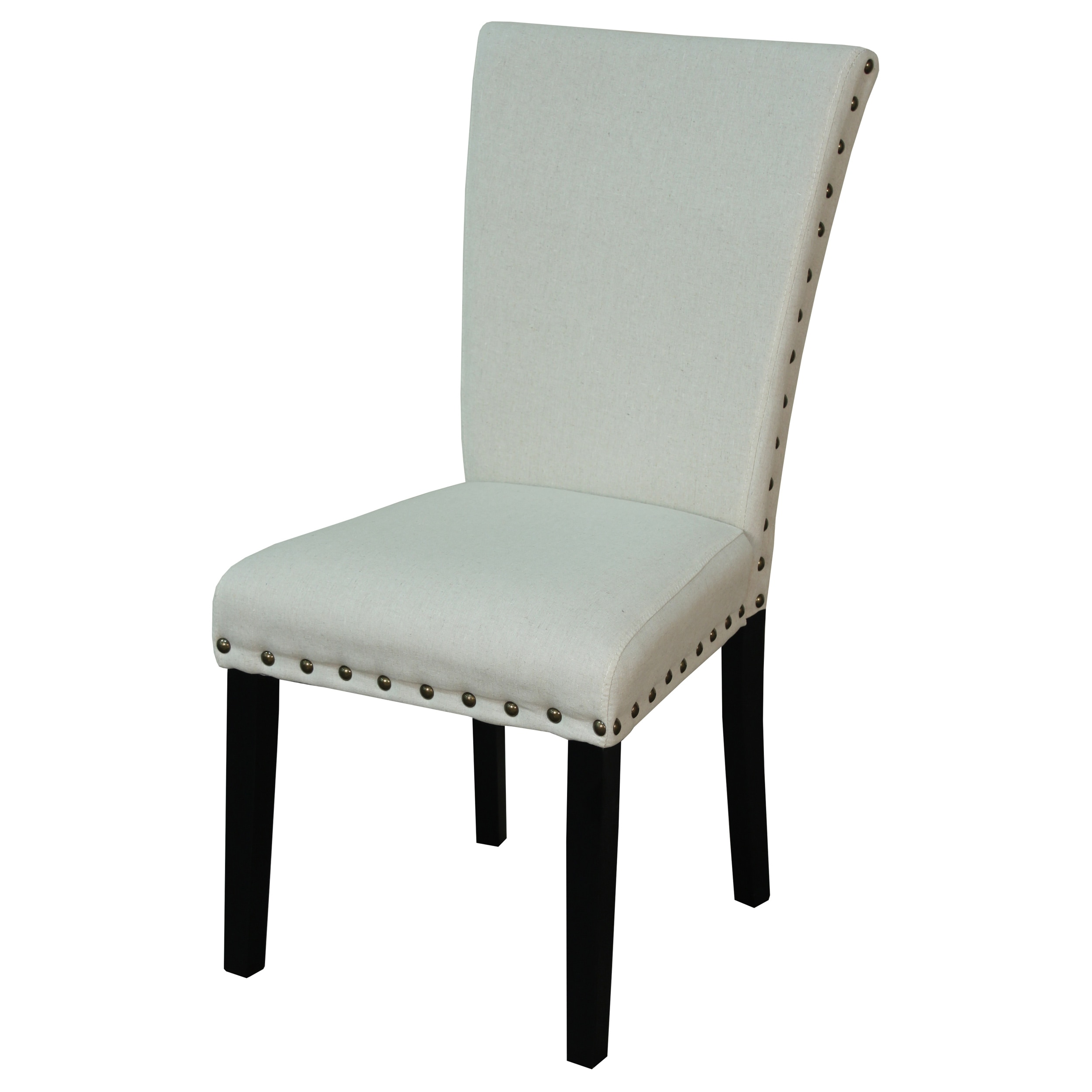 Dining Room Tufted Dining Chair Linen Parsons Chair