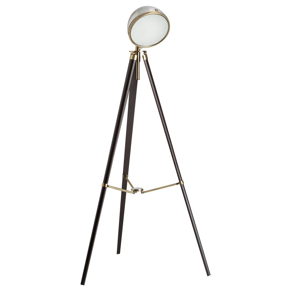 Brass Pharmacy Floor Lamp | Tripod Lamp | Tripod Table Lamp Base