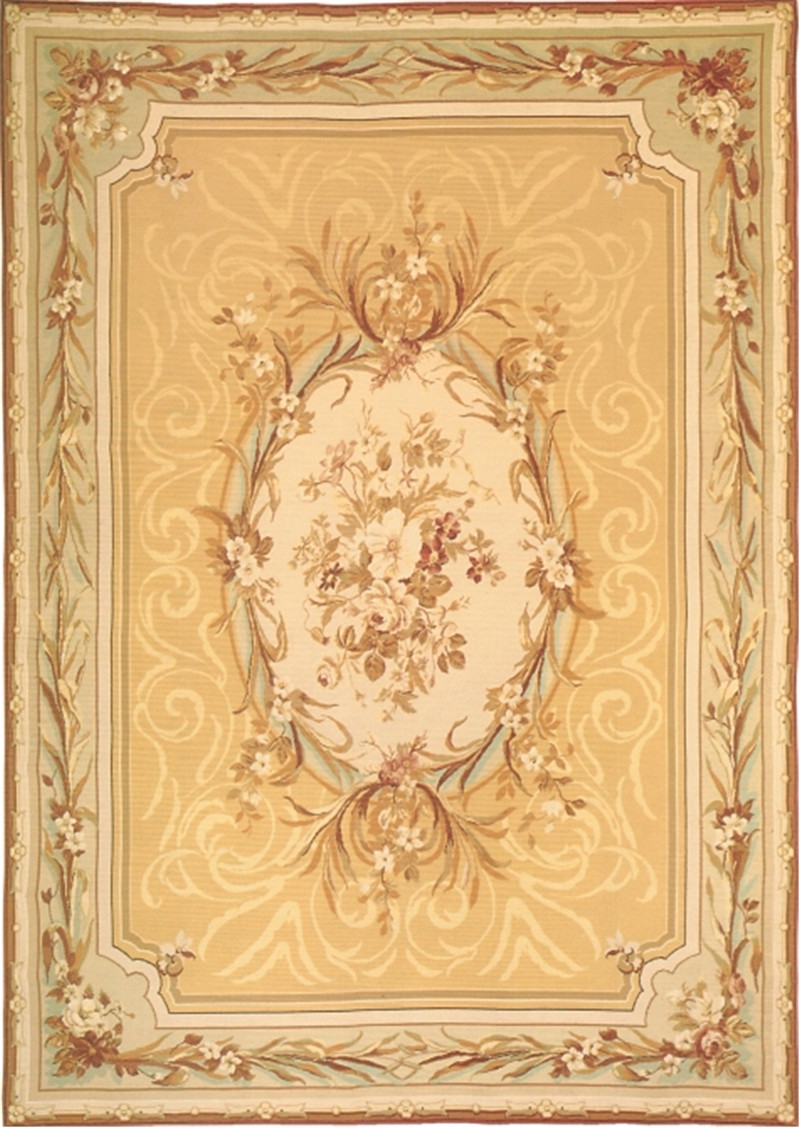 Breathtaking Aubusson Wool Rugs | Mesmerizing Aubusson Rugs