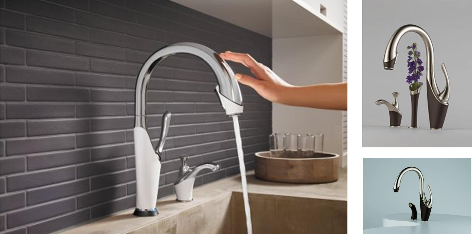 Brizo Kitchen Faucets | Brizo Bathroom Faucets | Touch Activated Kitchen Faucets