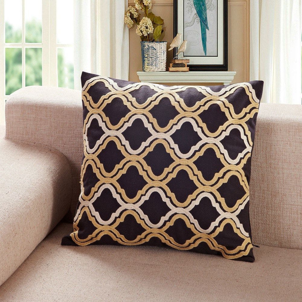 Bronze Throw Pillows | Purple and Gold Throw Pillows | Gold Throw Pillows